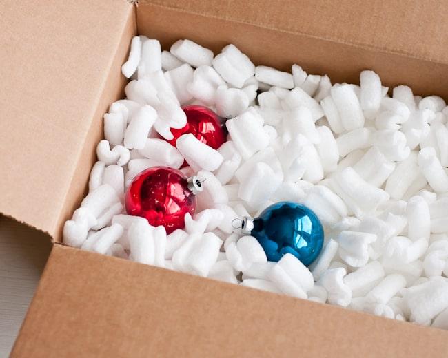 dekoracje świąteczne w pudełkach