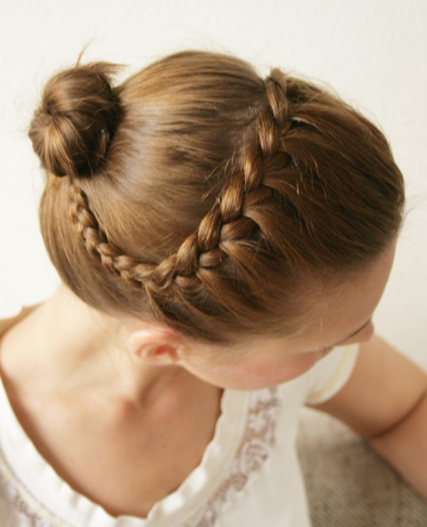 Braided headband by Pearls and Scissors