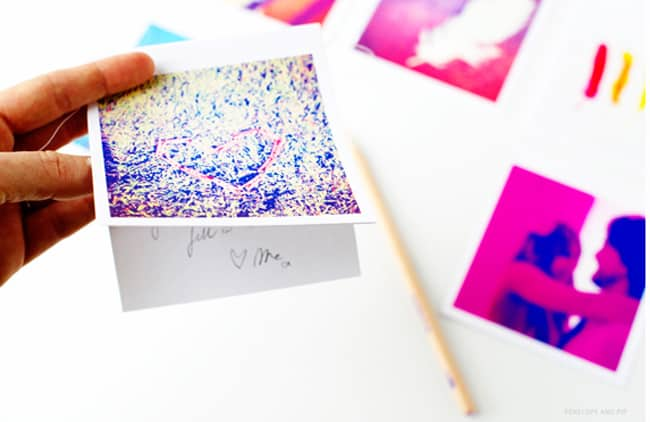 diy holiday card instagram photo