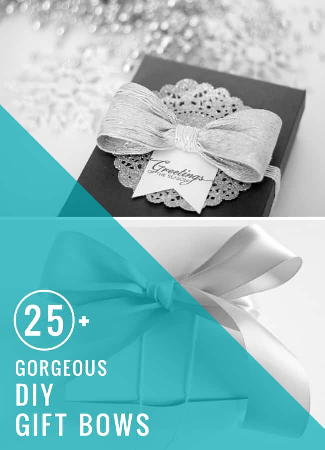 25 DIY Gift Bows | HelloGlow.co