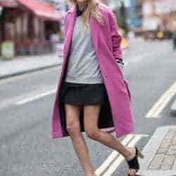 10 ways to wear a bright coat