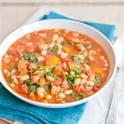 Hearty White Bean Vegetable Soup