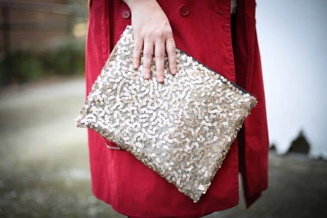 Sequin Clutch | Henry Happened