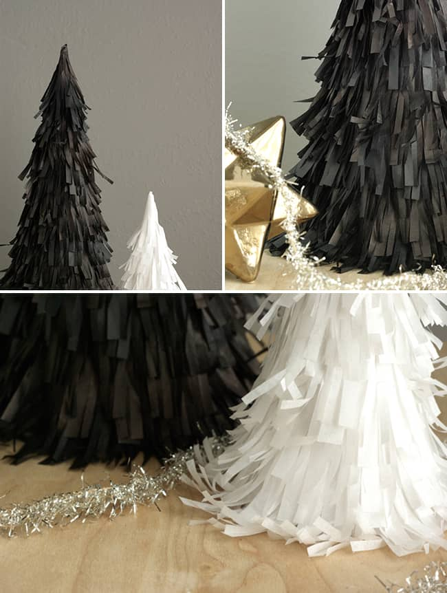 DIY Pinata Christmas Trees | Hello Glow