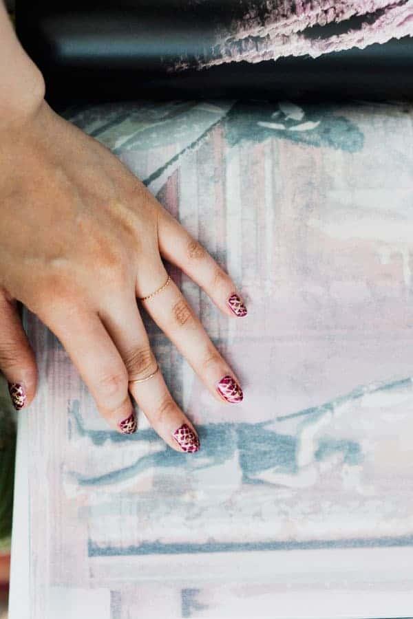 Faberge egg nails