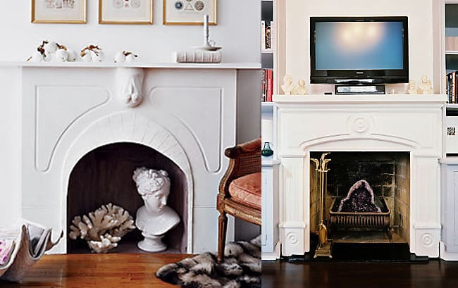 Four Ways to Decorate Your Fireplace