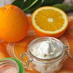 Orange Coconut Whipped Body Butter + 5 Winter Skin Care Tips