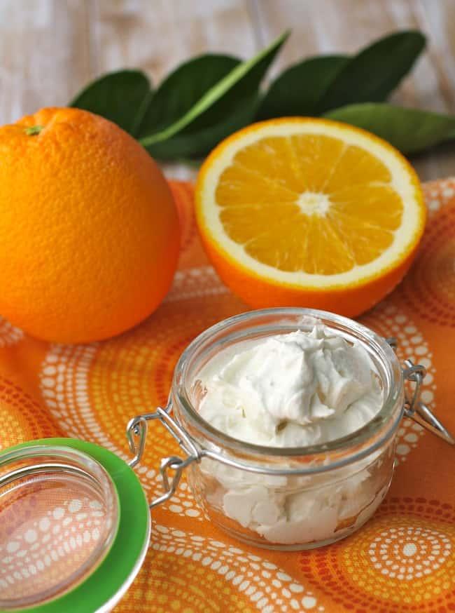 Orange + Coconut Oil Body Butter | Henry Happened