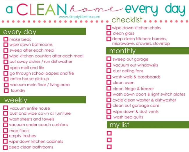 25 Organization Printables For 2014 Hellonatural Co