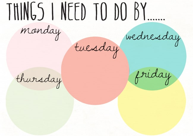 25 Printables to Organize Your Life in 2014 | Hello Glow