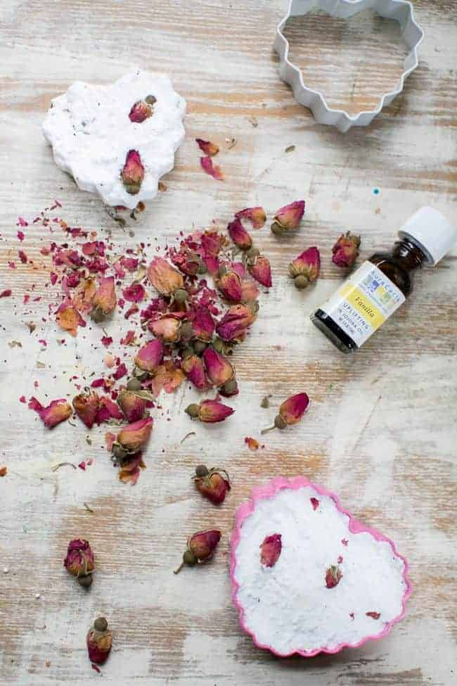 Rose Bath Bombs   Hello Glow