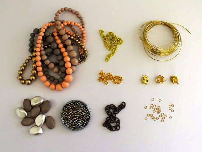 How to Make DIY Bead + Chain Bracelet - Henry Happened