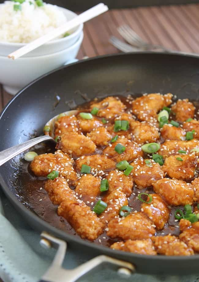 Healthier General Tso's Chicken | Hello Glow