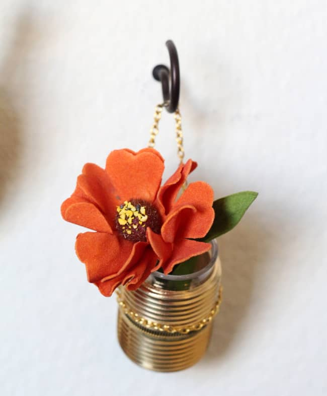 DIY Mini Hanging Vase