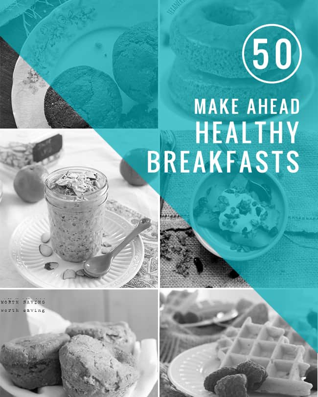 50 Healthy Make-Ahead Breakfasts | HelloGlow.co