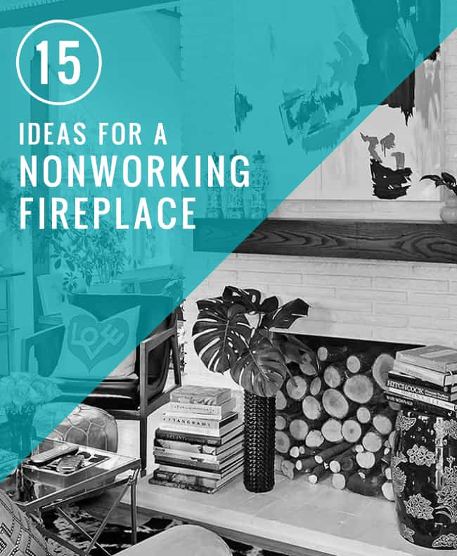 15 ideas for a nonworking fireplace