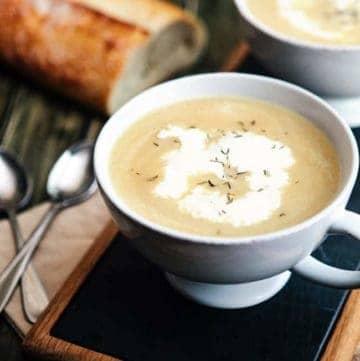 Caramelized Onion Soup | Hello Glow