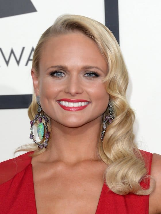 Miranda Lambert's glam waves