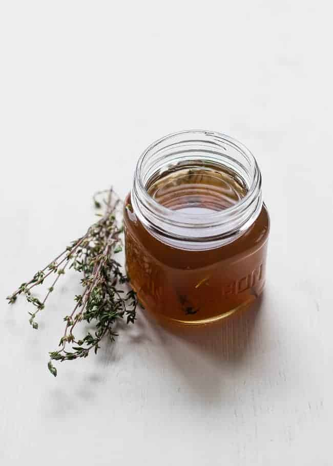 Thyme Honey Cough Syrup | 6 Homemade Cold + Flu Fighting Recipes