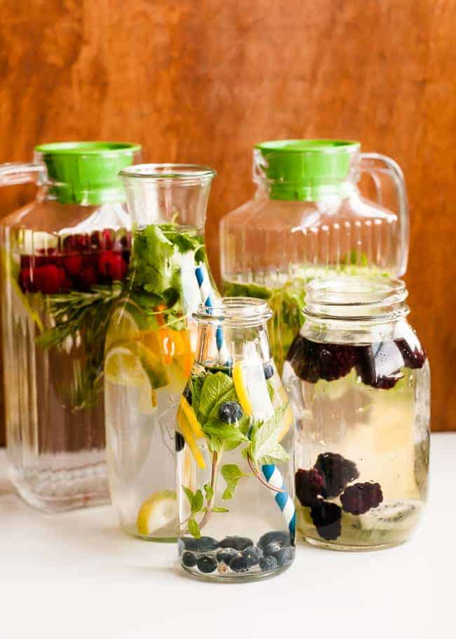 How to make infused water tips for making your own for How to make flavored martinis
