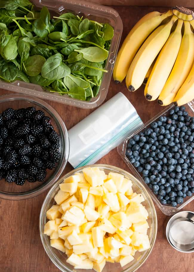 Frozen Green Smoothie System Green Smoothie Recipes