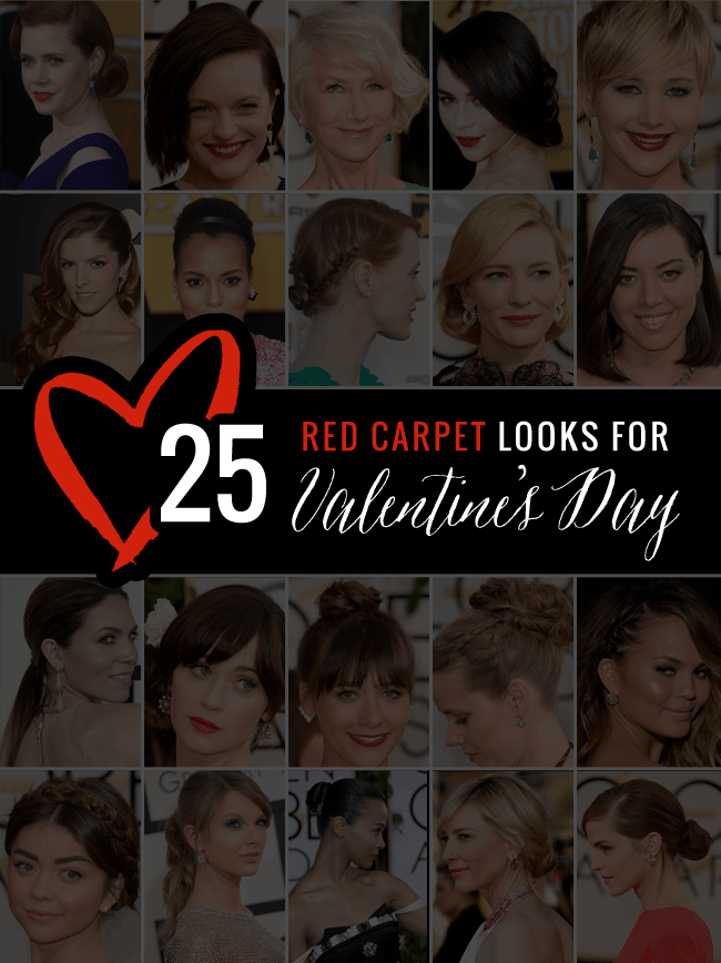 25 red carpet looks for Valentine's Day | Hello Glow