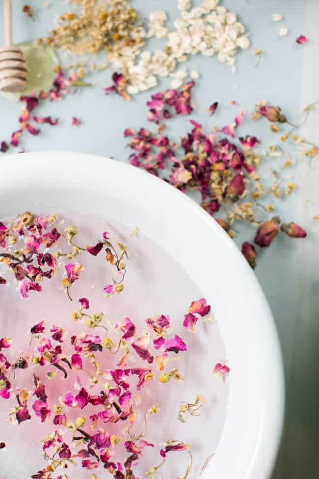 Rose + Chamomile Facial Steam | HelloGlow.co