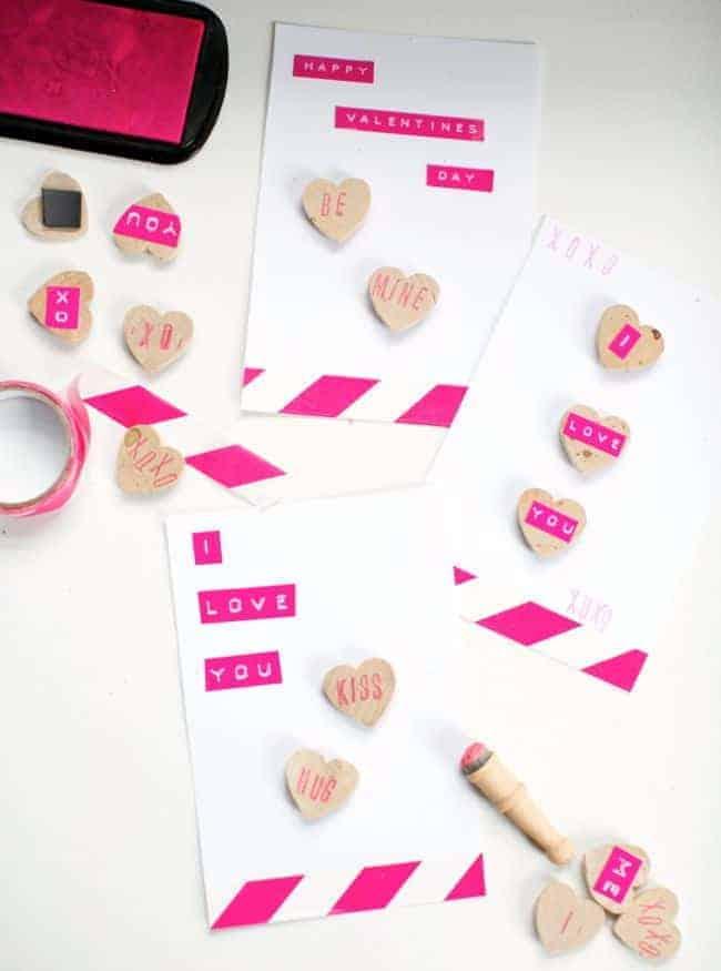 Magnet Conversation Heart Valentines | Hello Glow