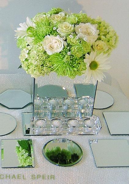 Mirror Box Vase