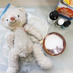 How To Clean Stuffed Animals + DIY Dry Wash