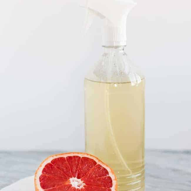 Grapefruit-Infused All Purpose Cleaner