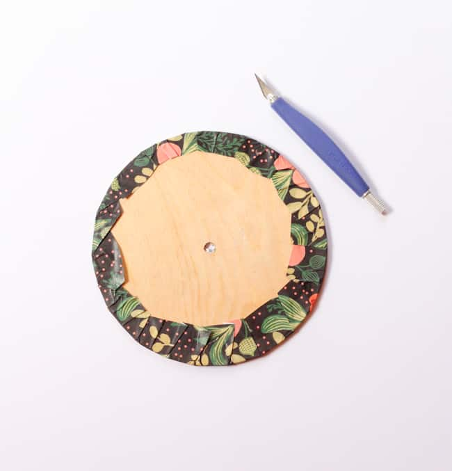 DIY Upcycled Clock
