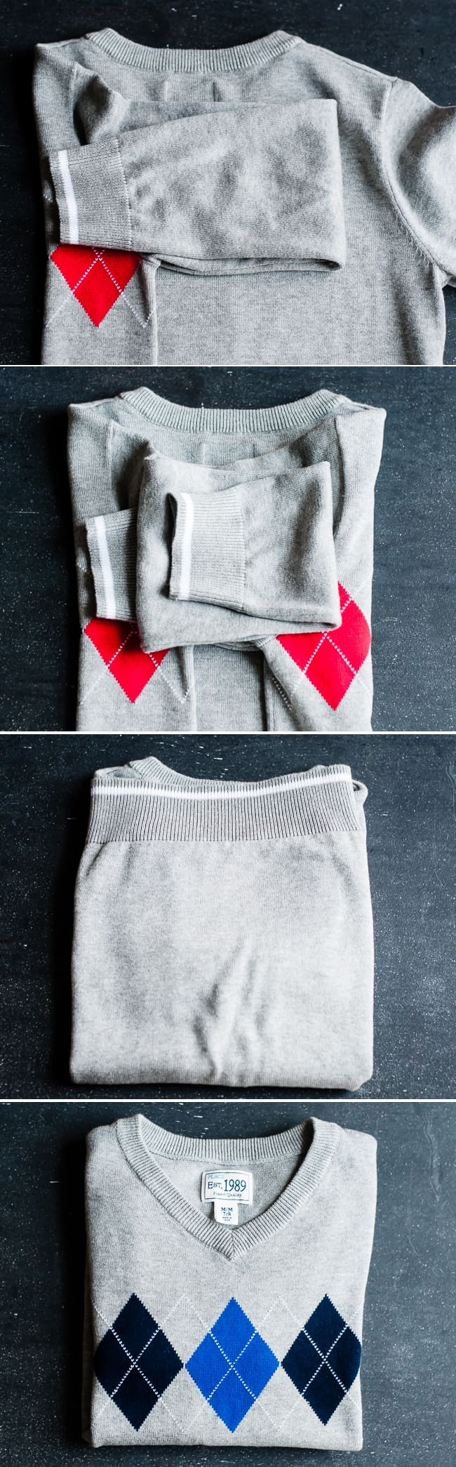 How to fold a sweater | Henry Happened