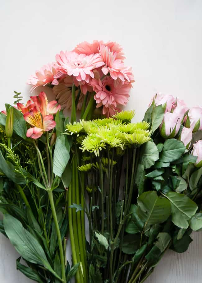 Grocery Store Flower Arrangement Tips | Hello Glow