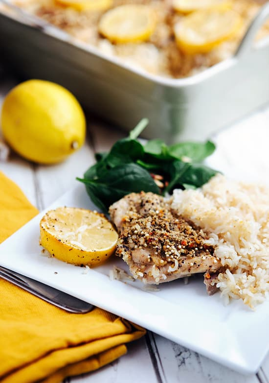 Easy meals: Lemon Pepper Chicken and Quinoa Rice Recipe | Henry Happened