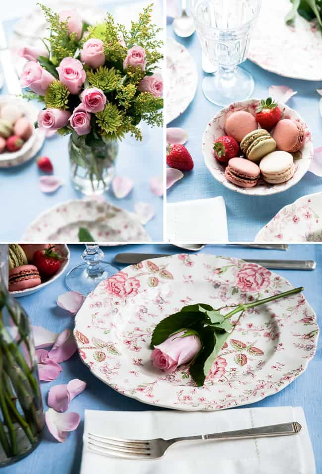 How to Create a Romantic Table Setting For Two | Hello Glow