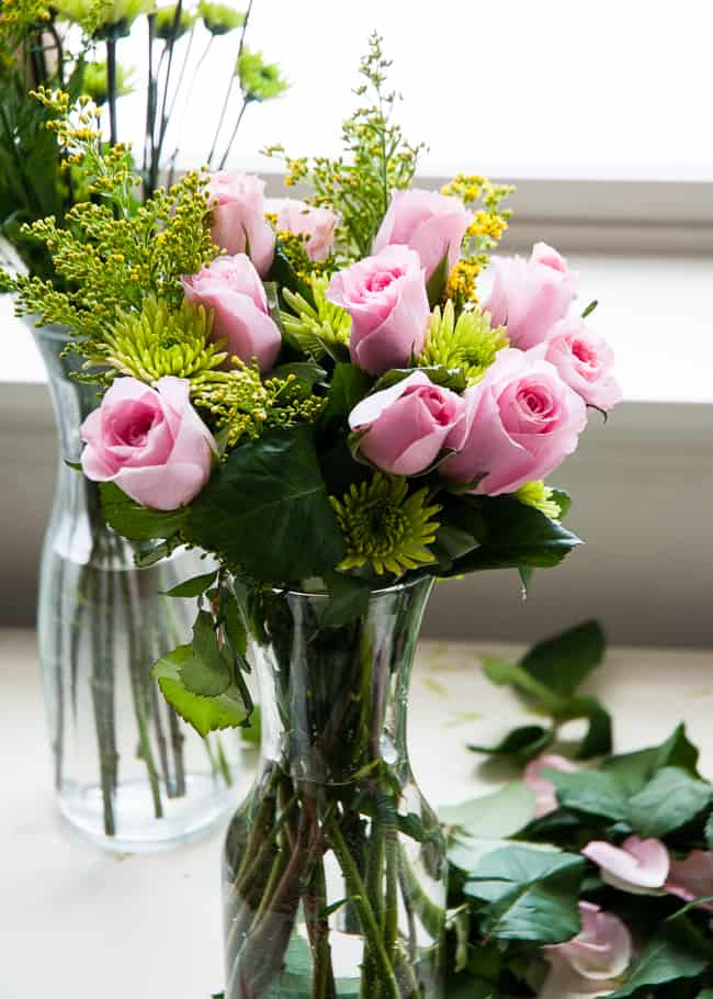 Grocery Store Bouquet with Pink Roses   Hello Glow