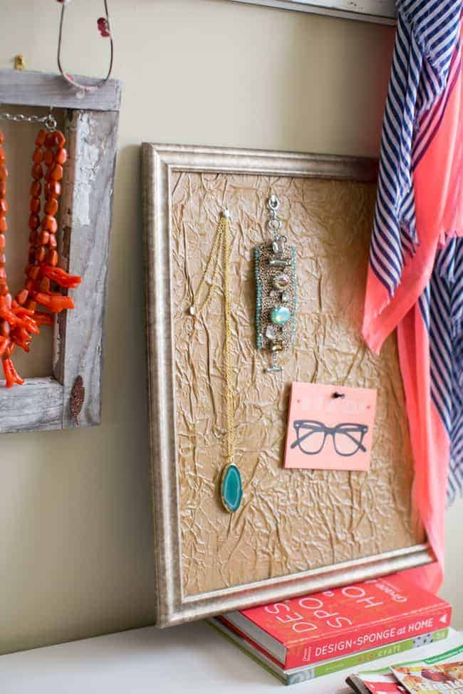DIY Paper Bag Frame Matting | Hello Glow