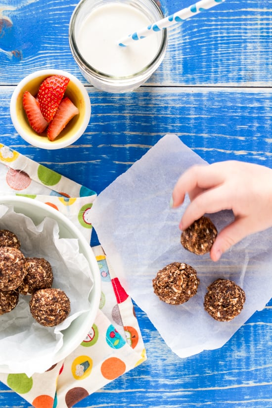 Cherry Chocolate Oat Snacks