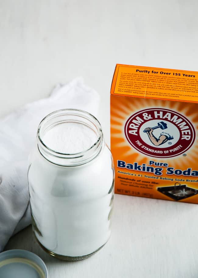 baking soda jar