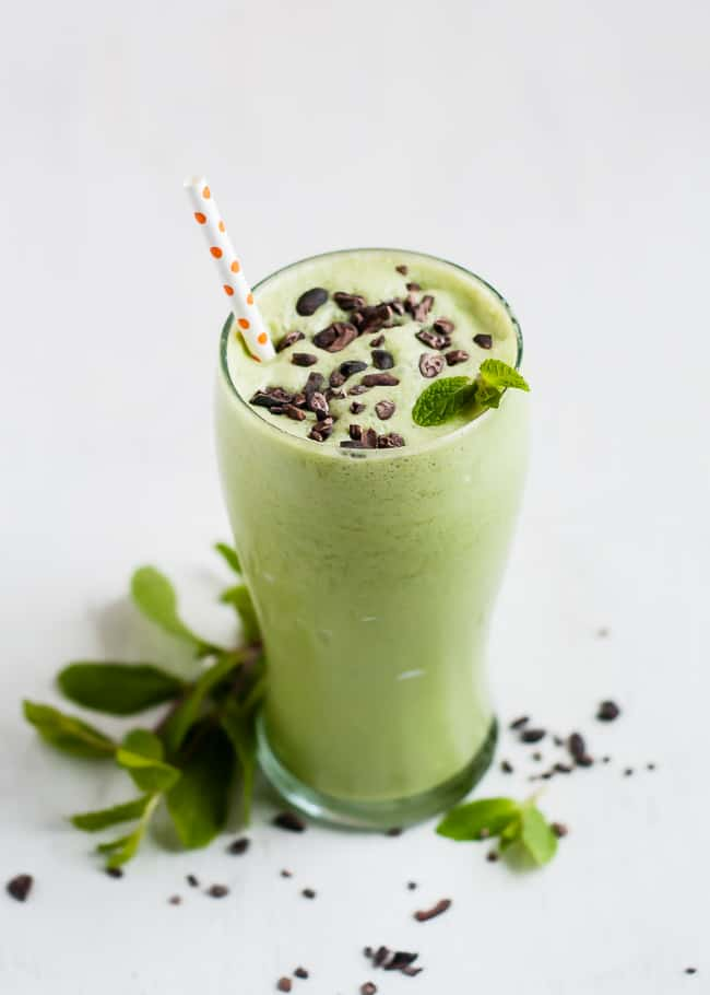 All Natural Shamrock Shake | HelloGlow.co