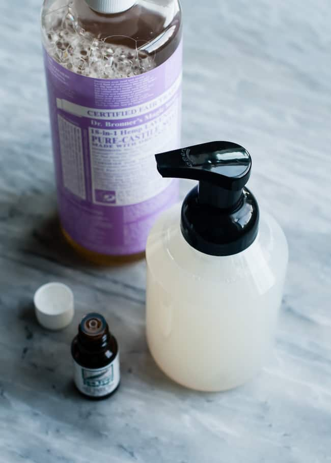 DIY foaming antibacterial hand wash | HelloGlow.co
