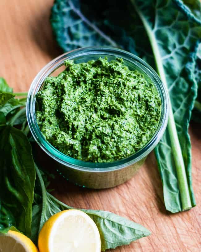 How to make kale pesto   Hello Glow