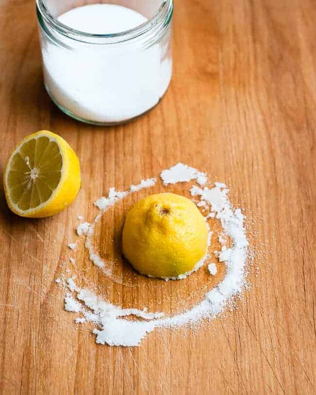 Citrus Cutting Board Cleaner | HelloGlow.co