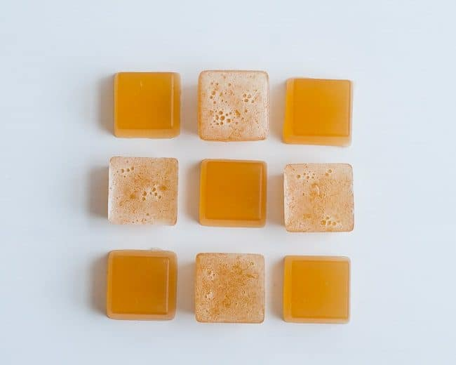 Lemon Ginger Gelatin Gummies