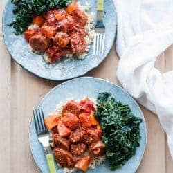 One Pot Sausage Paprikash (+ Breakfast The Next Day!)
