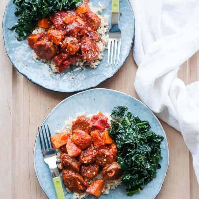 One Pot Sausage Stew | HelloGlow.co