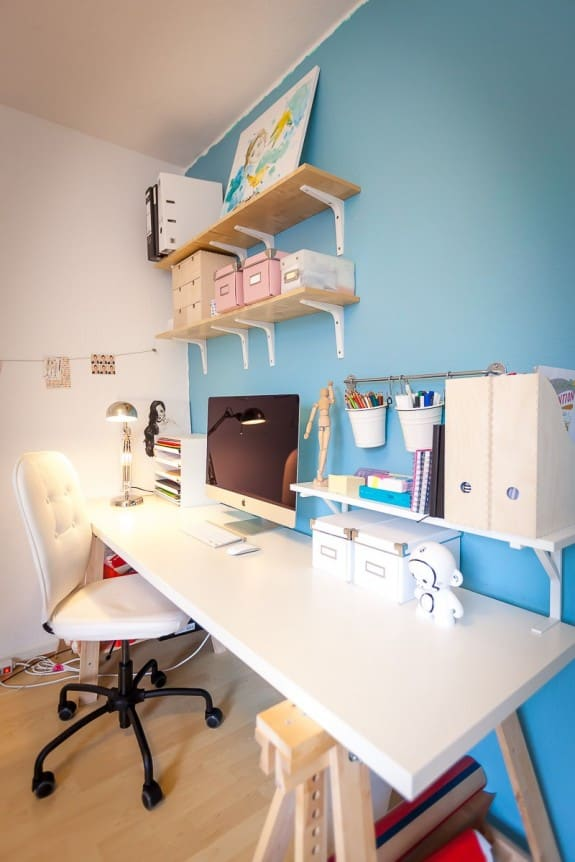 Organized home office