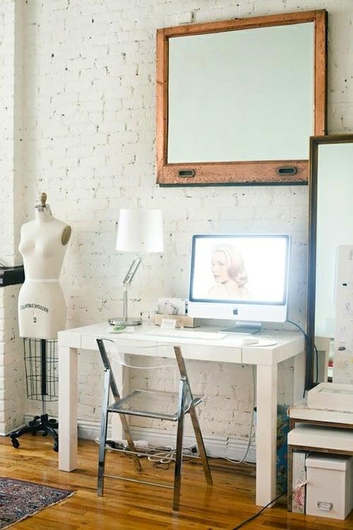 Shabby chic work space