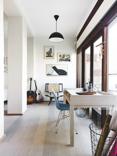 Uncluttered home office